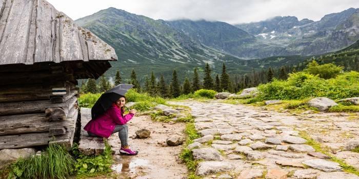 Co robić, gdy pada... w górach